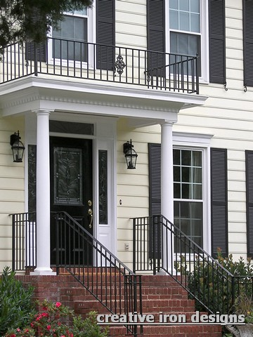 Portico railings related keywords suggestions portico for Indian house front balcony design