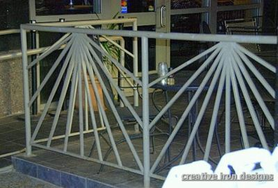 Railings further Cantilever Staircases as well 214541 also 151 333813 together with Log Railing. on metal stair section
